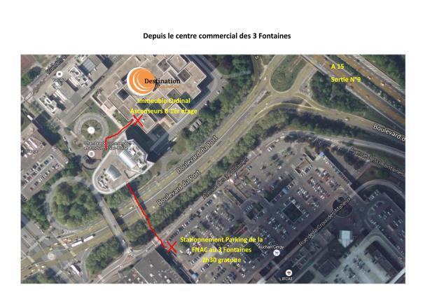 Plan d'accés 1