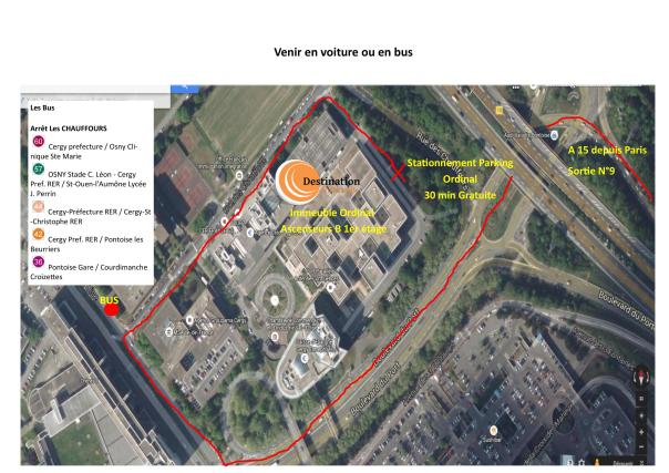 Plan d'accés 2
